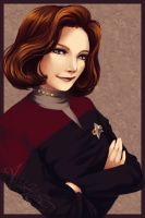 -| Captain Janeway |- by UNIesque