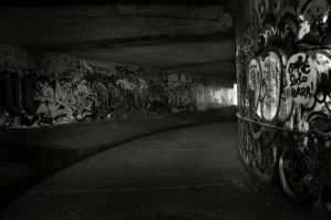 Underground tunnel 4 by klangmaid