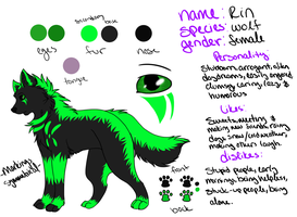 Rin new reference 2013 by Waterbender-Jay