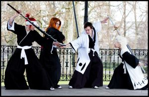 Fight Against Aizen by diriagoly