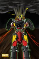 Master Grade Gurren Lagann Box Art by just1ce1