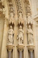Zagreb Cathedral exterior detail 2 by wildplaces