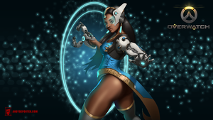 Overwatch: Symmetra fan art by Andy De Pooter by Eburone