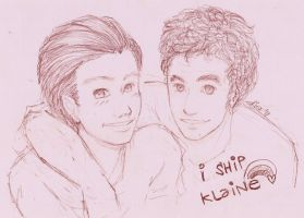 gLee - kLaine by Kiwa007