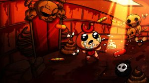 The Binding of Isaac: Boss Fight by Miss-Sue-Monroe