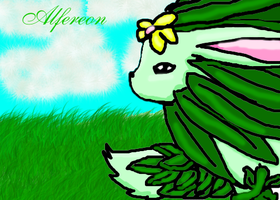 my pokemon alfereon by SoniaBane