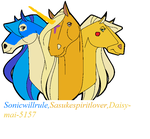 Me And My Two Pales by SasukeSpiritlover