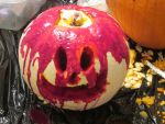 Blood Bath Pumpkin by XxTwistMoonheartXX