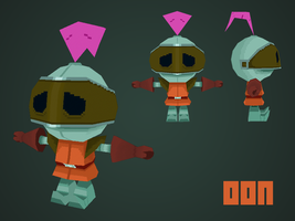 Oon - Low Poly by papercaves