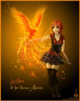 Lucithea and her Daemon by Lucithea