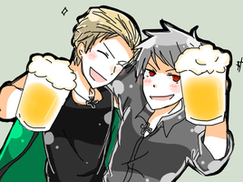 germany and prussia ~ by noeru-sama