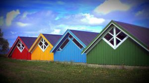 boathouses by RannveigT