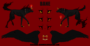 wolfie bane FANTASY reference [READ DISCRIPTION] by blackdog-badomen