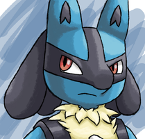 Lucario by Blair3232