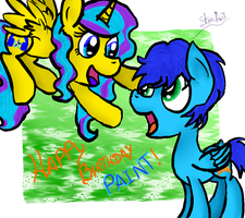 Happy Birthday Paint by GABY54232