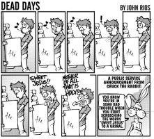 The Urinal Comic by deaddays