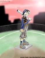 crazybaseball by IvanPacheko