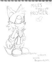 "Miles ""Tails"" Prower by supertailsfan"
