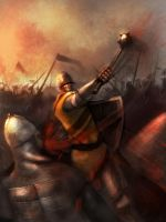 Medieval Battle by MarkTarrisse