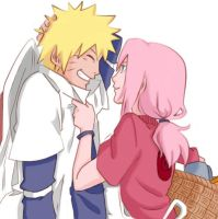 NaruSaku - colour by RinaM