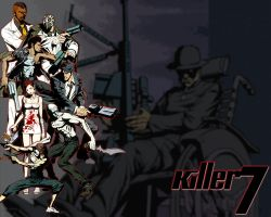 Killer7 Wallpaper by PixelArtPaintings