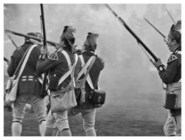 The British Infantry by padawan71