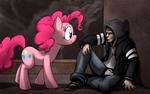Mercer and Pinkie by Mickeymonster
