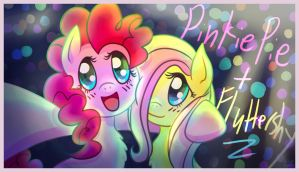 Pinkie Pie and Fluttershy at the Party! by shiita64