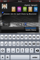 qTweeter skin for equiX by ulysseleviet