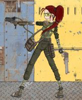 Fallout Girl by emptee182