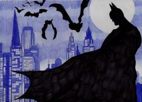 A Gotham Night by gpnightowl96
