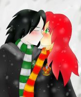 Severus and  LilY by HughesHunter5