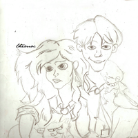 Hermione Granger - Ron Weasley by TheMocnster