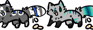 10 Point Cat Adoptables by PineapplesDogs