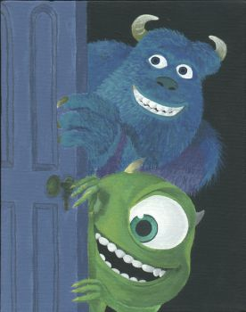monsters inc by shitface