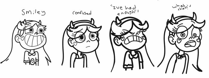 Star practice expressions set 1  by JackieGirl99
