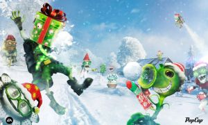 SNOW BALL FIGHT! by PlantsvsZombies-GW