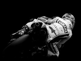Yamaha YZF R1 Racing B+W by LoveTheSilence
