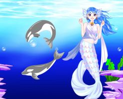 Under the Sea dress up by Brandee-Ssj-Doll
