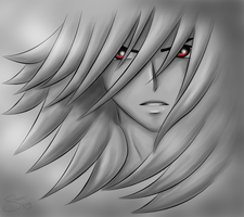 Red Eyes in the Shadow by sassie-kay