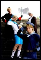 Hetalia: The Nordics by Edolein