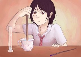 filling teacups by teires