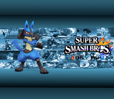 Lucario Wallpaper by CrossoverGamer