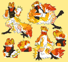 STYLISH CHICKEN LEGGERS by behemutt
