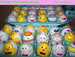 Easter Bunny- Easter Eggs by Rene-L