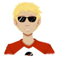 Dave Strider: Knight of Time by ZombieDecoy