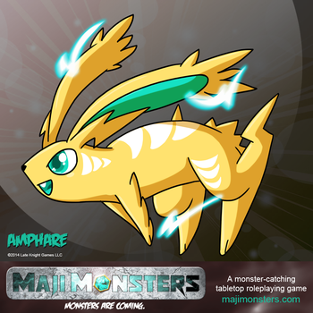 Amphare by MajiMonsters