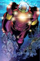 Marvel Adventures Ironman 5 by Aburto