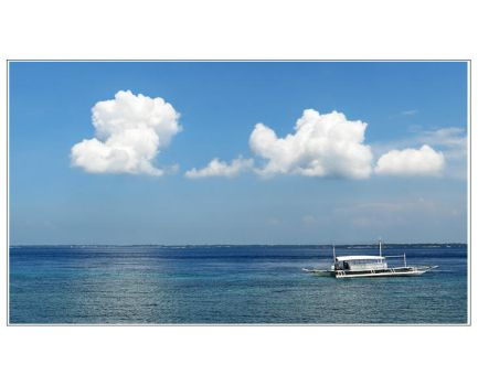 Clouds and A Boat by quadrajet988
