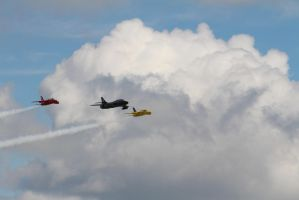 The Yellowjacks, Black Arrows and Red Arrows by 2509-Silverlink